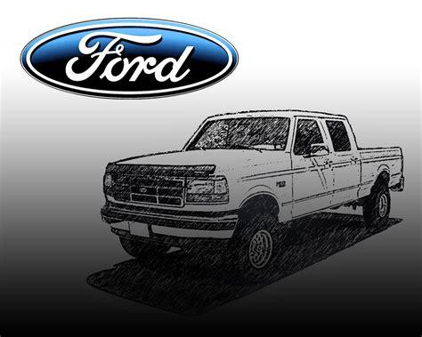 classic ford truck wallpaper wallpapersafari
