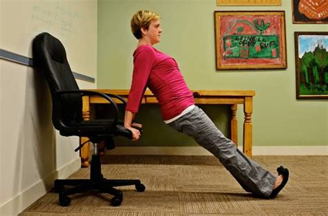 5 chair exercises you can do in the office mnn
