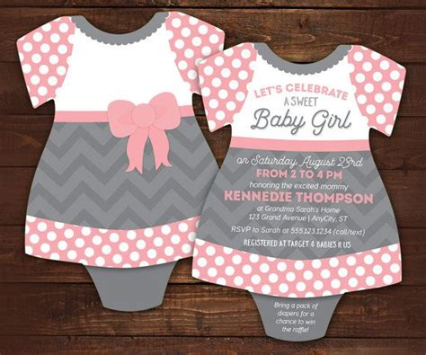 lady baby shower invitations bodysuit invitations baby girl shower invite dress tutu
