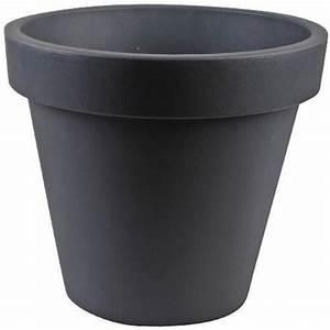 Grand Pot De Fleur Interieur : grand pot de fleur plastique imitation pierre 40 c achat ~ Premium-room.com Idées de Décoration