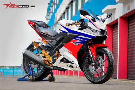 modifikasi striping all new yamaha r15 ala repsol motogp motoblast
