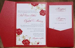 floral archives page 9 of 22 emdotzee designs With red cream and gold wedding invitations