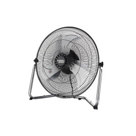 Home Depot High Velocity Floor Fans by Black Decker 18 In High Velocity Floor Fan Bdhv5018 The