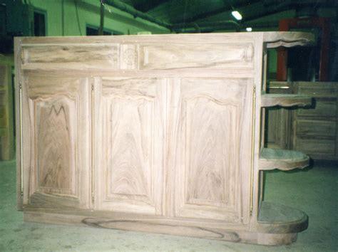 meuble bois cuisine cuisine sur mesure posée à auxerre