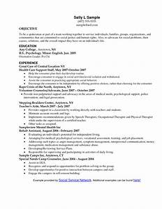 social work resume objective statement With social work resumes and cover letters
