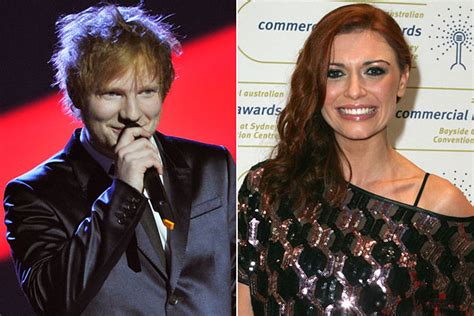 Ed Sheeran Parties With His Ex in Australia