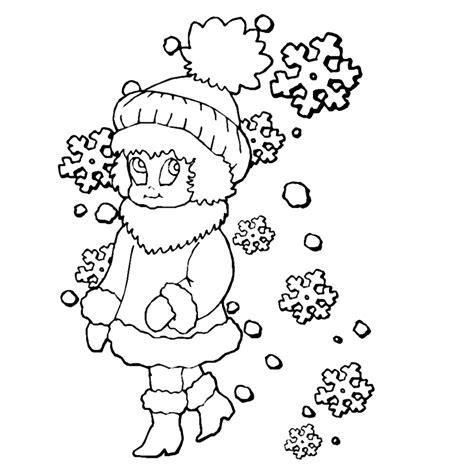 Kleurplaat Winter by Winter Kleurplaten Kleurplatenpagina Nl Boordevol