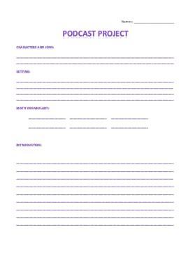 podcast template math podcast project educational aspirations matt coaty