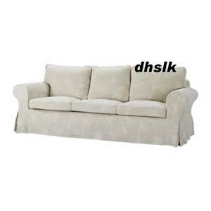 sofa bezug ikea ikea ektorp 3 seat sofa cover redeby beige slipcover floral bezug