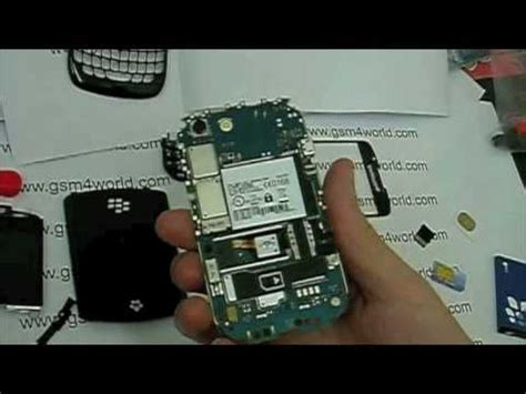 Curve Fix by Blackberry Curve 8520 Guide Disassembly