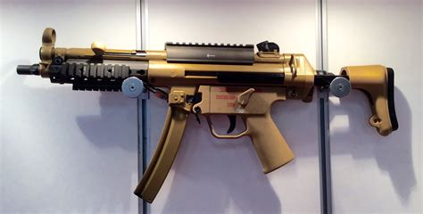 H&k Unveils Mid-life Upgrades For Mp5 Smg At Ausa