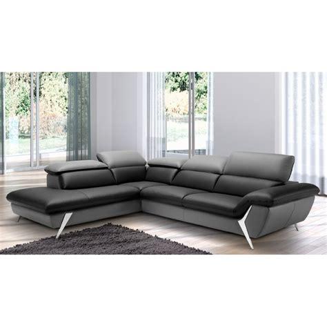 canape de luxe cuir grand canapé d 39 angle méridienne 6 places cuir haut de gamme