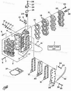 Yamaha Outboard Parts By Hp 30hp Oem Parts Diagram For