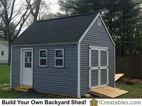 shed plans 12x16 12 215 16 garden shed plans built in new jersey icreatables