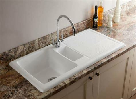 porcelain kitchen sinks carron ceramic kitchen sinks shonelle 150 1590