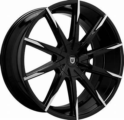 Lexani Wheels Css Machined Gloss Covered Cap