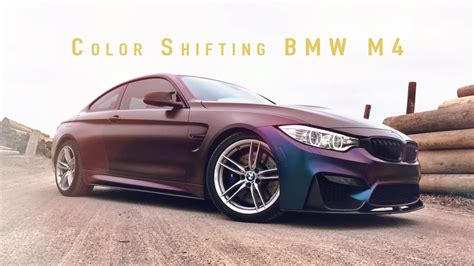 Change For Bmw by Color Change Wrap Bmw M4