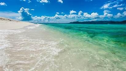 Tropical Beach Landscape Island Sandy Islands British