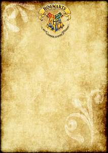 hogwarts parchment related keywords suggestions With parchment letter paper