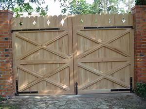 Portail En Bois Pas Cher : portail bois pas cher portail alu battant 4m sfrcegetel ~ Melissatoandfro.com Idées de Décoration