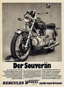 Racing Caf U00e8  Vintage Brochures  Hercules 1974  Germany