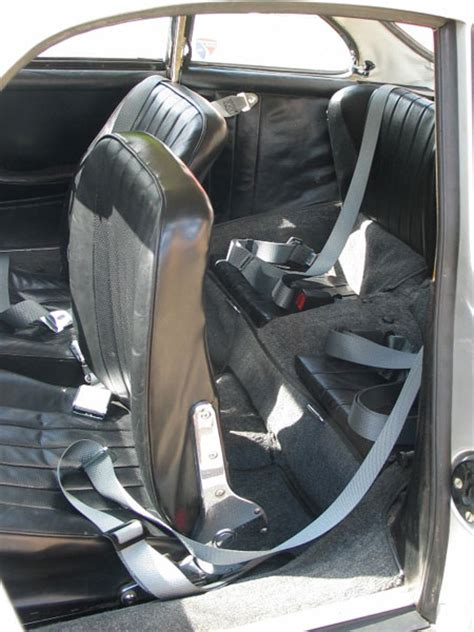 Porsche Seat Belts