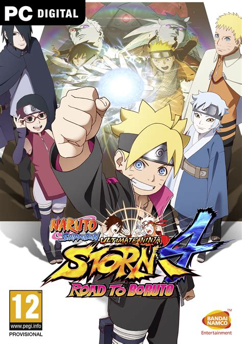 naruto ultimate ninja storm  road  boruto des images