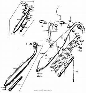 Muffler For Honda S65