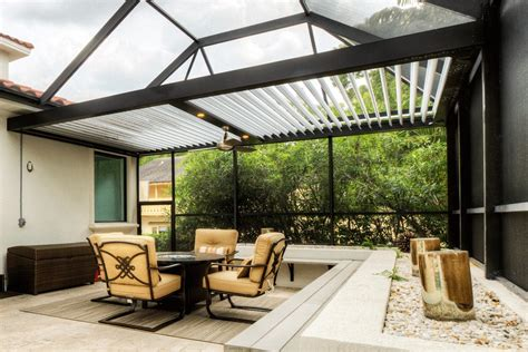 pergolas punta gorda adjustable absolute aluminum
