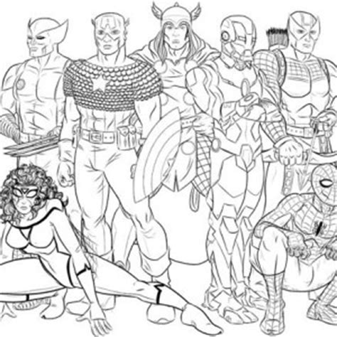 black widow avengers coloring pages coloring pages