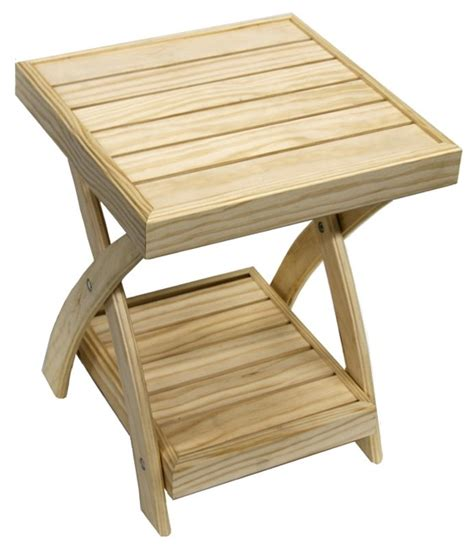 folding side table plans  woodworking