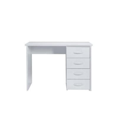 bureau 100 cm bureau ecoline blanc l 100cm mobilier d officine