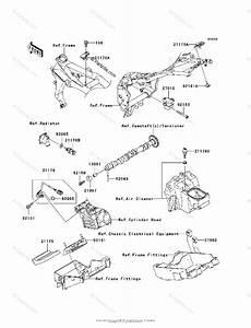 Kawasaki Motorcycle 2003 Oem Parts Diagram For Fuel