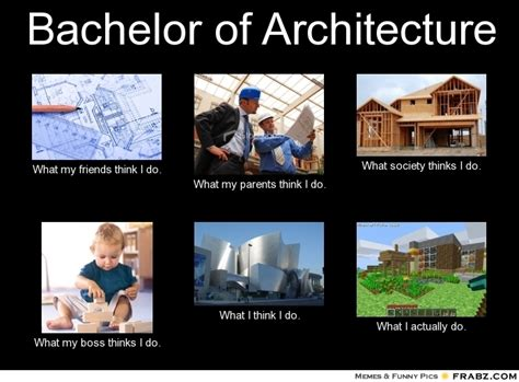 Architecture Memes - bachelor of architecture meme generator what i do