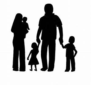 Silhouette Family Clipart - Clipart Suggest