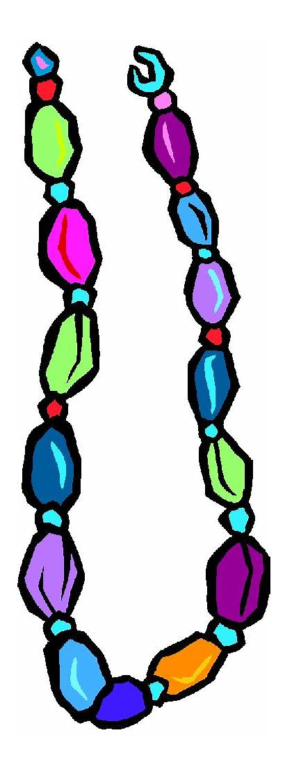Clipart Clip Jewelry Bead Necklaces Necklace Beaded