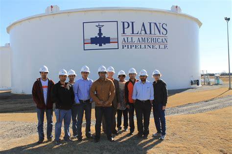Members visit Plains All American Pipelines L.P in Cushing ...