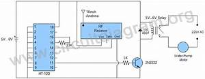 Wireless Water Pump Motor Controller