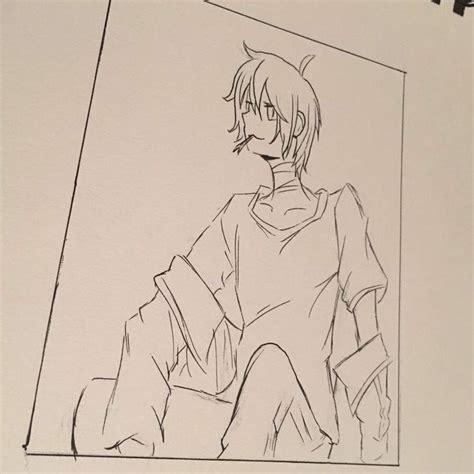 copic sketch e000 galaxy yato drawing process anime amino