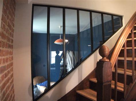 table bureau bois feu fer forgeverrière d 39 escalier