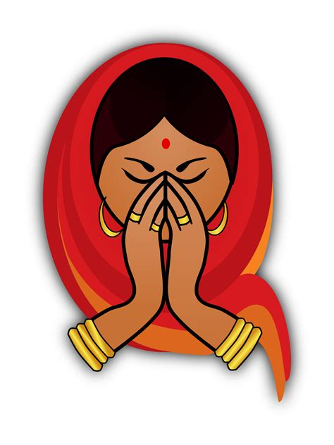 indian clipart hindu clipart indian pencil and in color hindu
