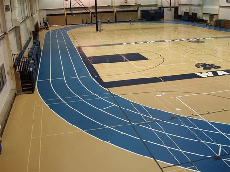 Wausau West Gymnasium Floor   MFMA