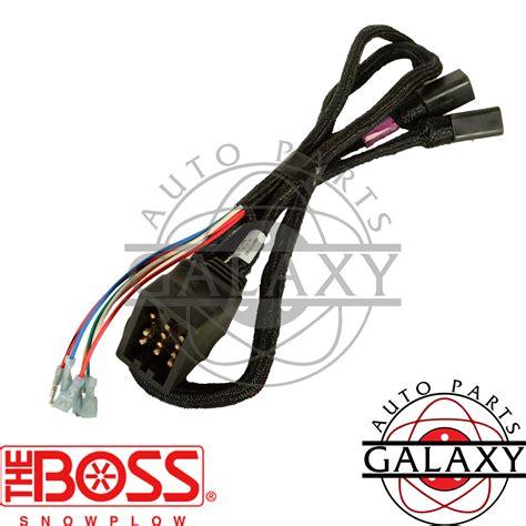 Boss Msc Snow Plow Wiring Harness Ebay