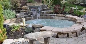 Les spas paysagers jardins de vendee for Ordinary amenager un jardin paysager 11 16 idees pour amenager votre jacuzzi dexterieur des idees