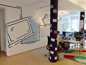 Wandgestaltung Mit Klebeband : b ror ume mit tape art gestalten dumbo and gerald ~ Markanthonyermac.com Haus und Dekorationen