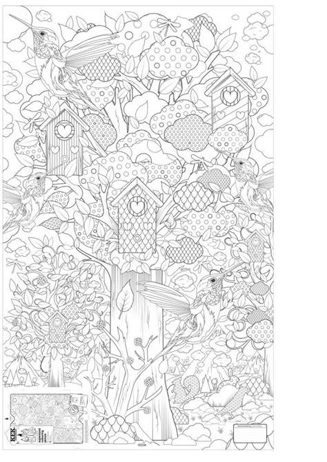 Kleurplaat Xl by Kleurplaat Papier Zwart Wit 91x150cm In Het Bos Met