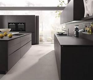 Plan De Travail Gris Anthracite : cuisine design pierre gris anthracite cuisine design sans ~ Dailycaller-alerts.com Idées de Décoration