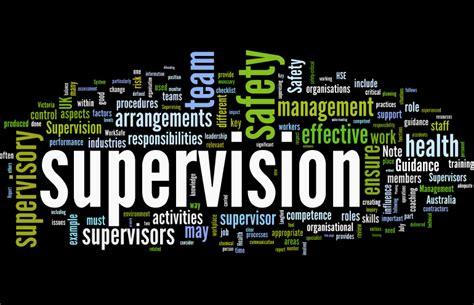 supervision human factors