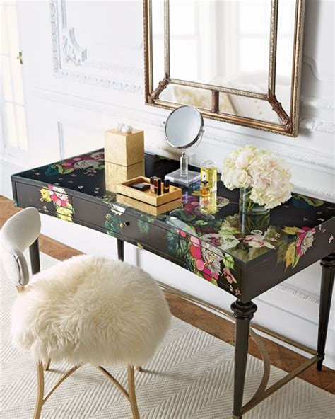 cynthia rowley  hooker furniture fleur de glee writing desk