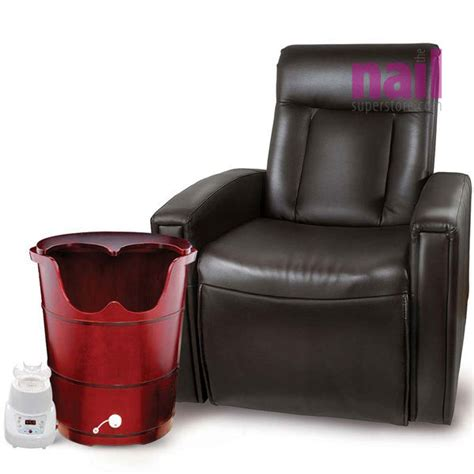 Spa Recliner Chair by Steam Sauna Pedicure Spa With Recliner Chair